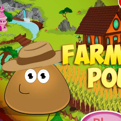 Гра Поу в ролі фермера
