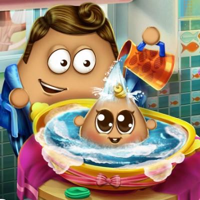 Гра Поу: Купання Малюка