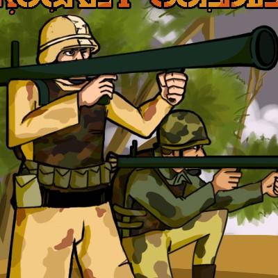 Гра Черв'ячки: Ракетники