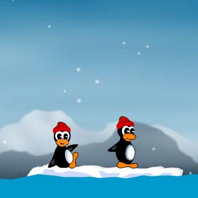 Гра Черв'ячки Пінгвіни: Войнушка за Антарктику