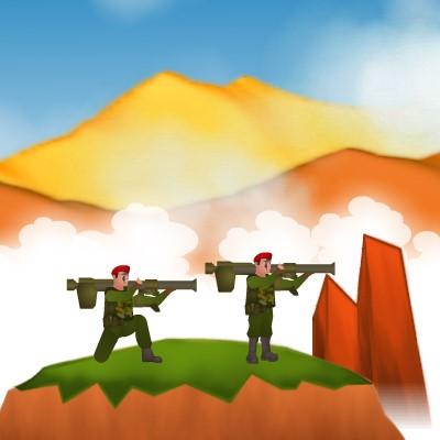 Гра Черв'ячки: Битва Базук