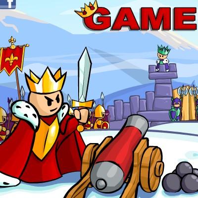 Гра Війна Королів в стилі черв'ячків