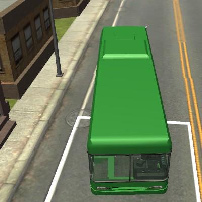 Гра Автобус 3Д: Парковка в місті