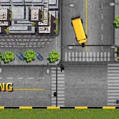 Гра водій автобуса в місті