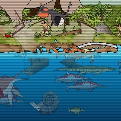 Гра Доісторична Акула: Напад