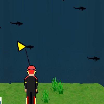 Гра споймай Акулу: Рибалка