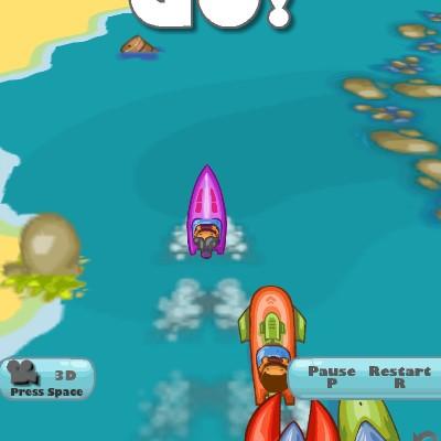 Гра змагання акул: Гонки на катерах