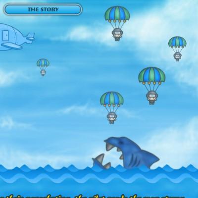 Гра порятунок армію від синьої акули