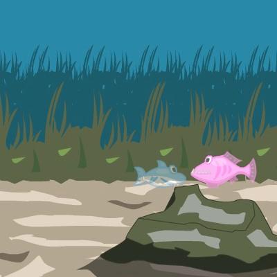 Гра пригода маленької акули