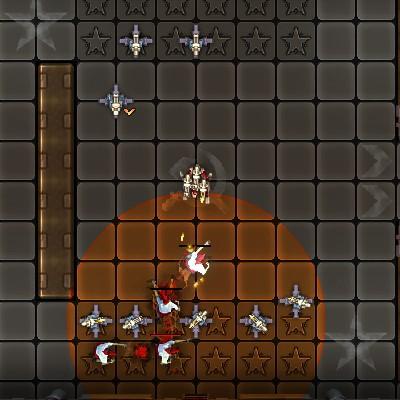 Гра Атака роботів проти Зомбі