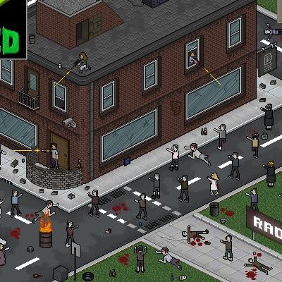 Гра Атака Зомбі в місті: Радіо Зед