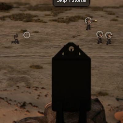 Гра відбити атаку ворога: Операція буря в пустелі