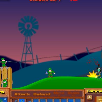 Гра Атака: війна Зомбі