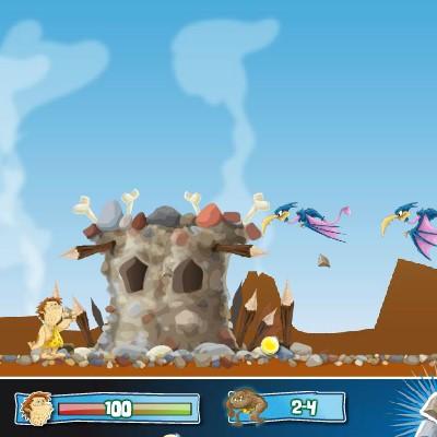 Гра Атака: Бій з Динозаврами