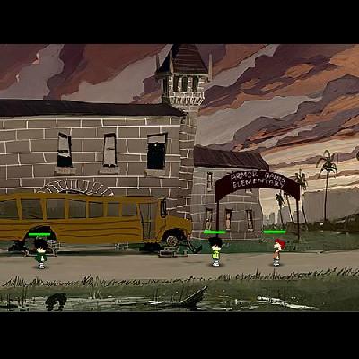 Гра Атака Зомбі учнів: Обладунки оборони