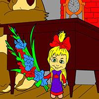 Гра Маша і Ведмідь: Підготовка до школи