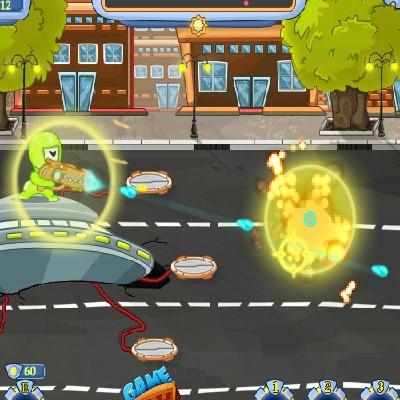 Гра Атака прибульців: Брудні Земляни