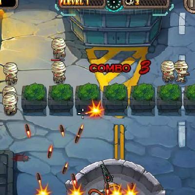 Гра Атака кулями проти зомбі