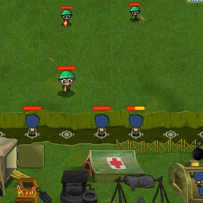 Гра Атака: Ручні солдати