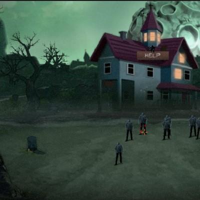 Гра Атака Зомбі на будинок