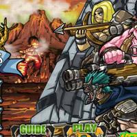 Гра Атака монстрів: Четверо Захисників
