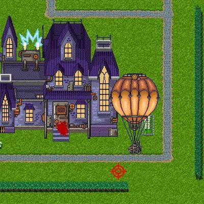 Гра Атака: Захисти від зомбі будинок божевільного вченого