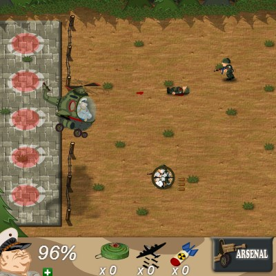 Гра шалена Атака: Битва солдатів