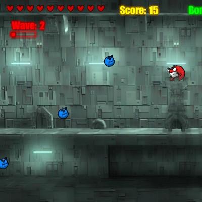 Гра Атака вежі Червоної кульки