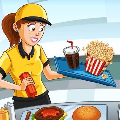 Гра бізнес: Закусочна в Кінотеатрі