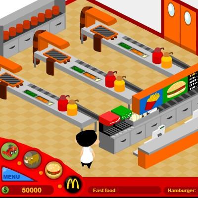 Гра Бізнес Симулятор: Макдональдс
