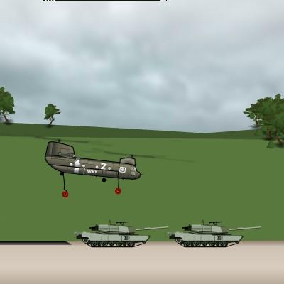 Гра Армійський вертоліт підтримки