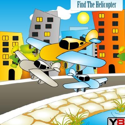Гра знайди вертоліт на картинці