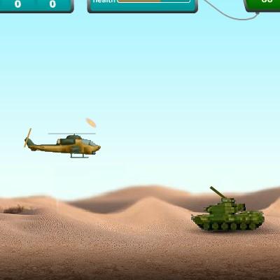 Гра Військовий Вертоліт: Стрілялка