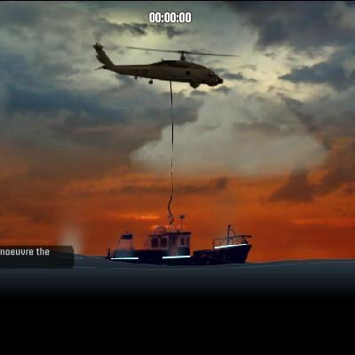 Гра Симулятор Рятувального Вертольота: Висадка пасажирів