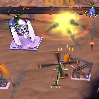 Вертоліт гра Стрілялка 3д: Шторм