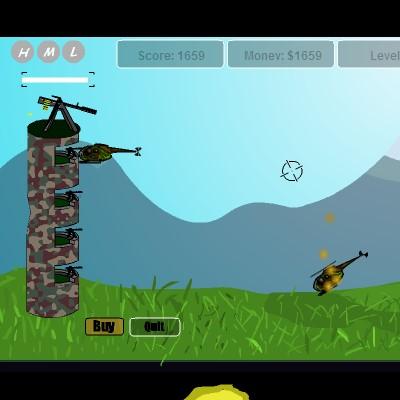 Гра Захист від бази Вертолітної атаки