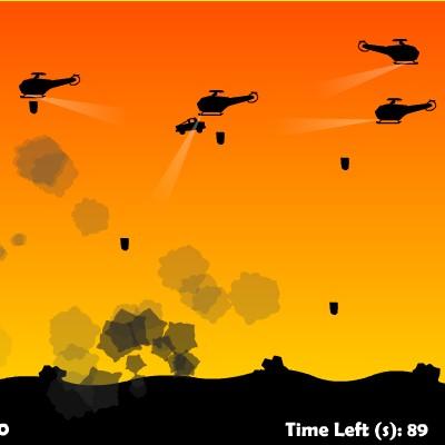 Гра Вертольоти проти машинки