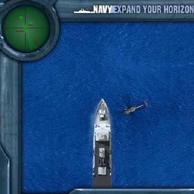 Вертоліт гра Стрілялка: Захист корабля