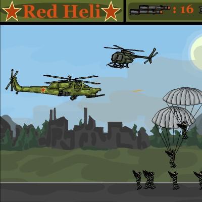 Вертоліт гра: Червоне знамено