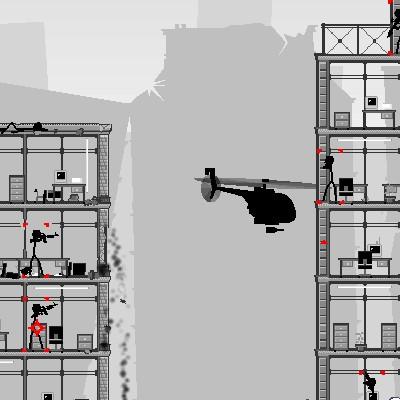 Вертоліт гра проти терористів: Стрілялка в місті