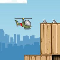 Гра іграшковий вертоліт: Обійди перешкоди