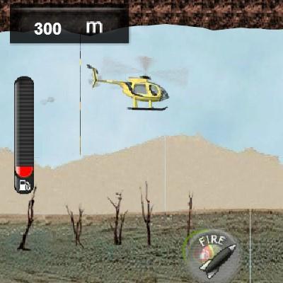 Гра міні флэппи вертоліт