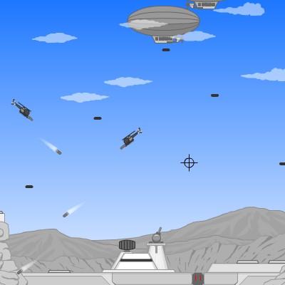 Гра Захист бази проти Вертолітної атаки