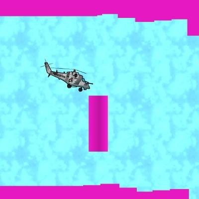 Гра Флэппи Вертоліт зі стріляниною