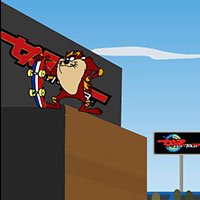 Гра Дісней: Тасманійський диявол на скейті