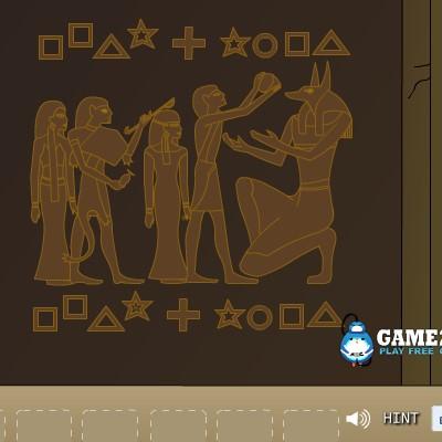 Гра Знайти Вихід з Древньої Піраміди