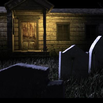 Гра Знайти Вихід зі склепу кладовища