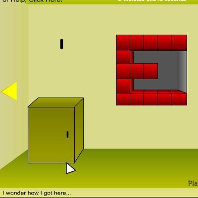 Гра Знайти Вихід з Жовтої Кімнати