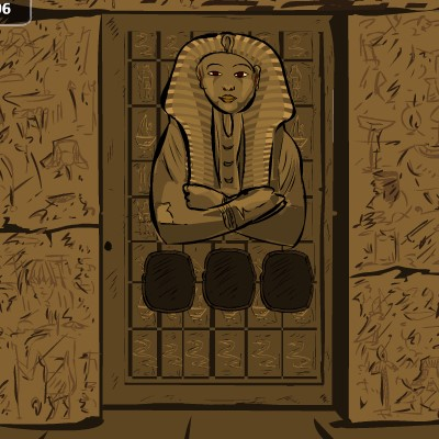 Гра Втеча з піраміди: Зла мумія