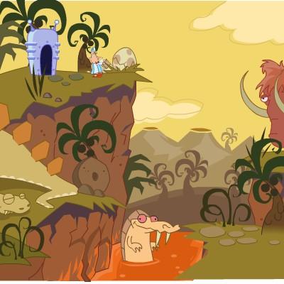 Гра Знайти Вихід з доісторичної епохи